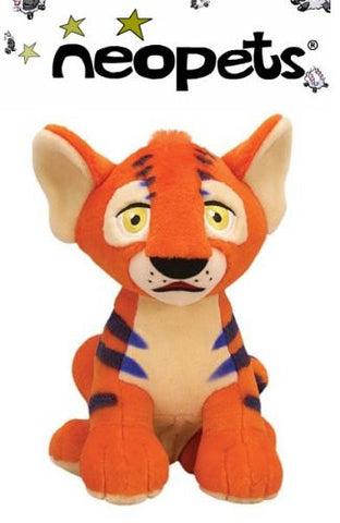 "10"" Neopets Deluxe Interactive Talking Kougra Plush Doll"