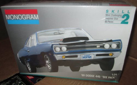 """69 Dodge 440 ""Six Pack"" - 1/24 Scale"