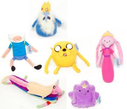 Adventure Time Plush Set Of 6