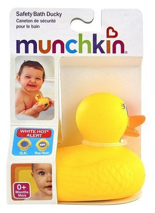 1 pk Munchkin White Hot Safety Bath Ducky 1.0ea