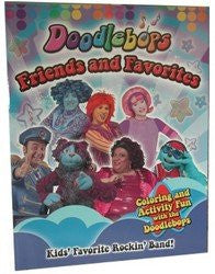 """Doodlebops"" - Friends & Favorites"" - coloring book. (Sold by 1 pack of 48 items)"