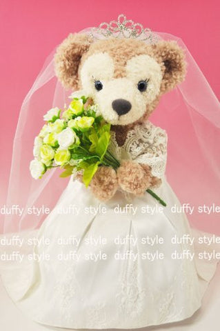"""Duffy style"" original TM S size 43cm Duffy Sherry in Mae stuffed perfect clothes TM wedding dress classic type D397C"