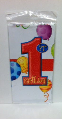 1st Birthday Table Cover