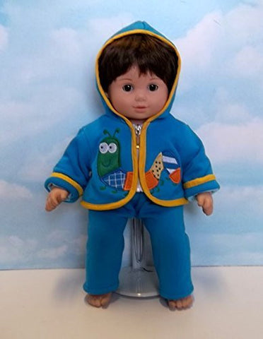 """Caterpillar Cutie"" Set in Blue. Fits 15"" Dolls like Bitty Baby® and Bitty Twin®"