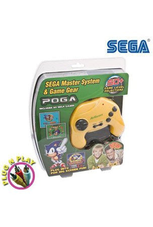 ATGames Poga TV Plug N' Play with 30 SEGA Games (Free HandHelditems Sketch Universal Stylus Pen)