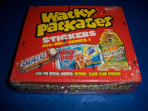 2004 Wacky Packages All New Series1 Brand New 24 Pack Sealed Box