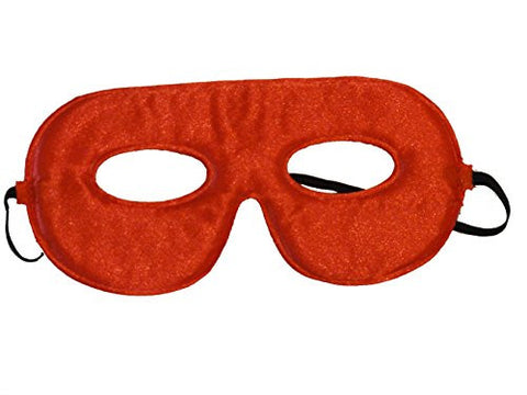 10 Abracadabrazoo Superhero Red Satin Masks