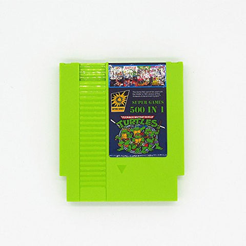 500 in 1 NES Cartridge - Contra, Ninja Turtles,, Double Dragon LATEST VERSION