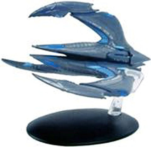 #24 Star Trek XINTI Insectoid Warship DieCast Metal Ship-UK/Eaglemoss w Mag
