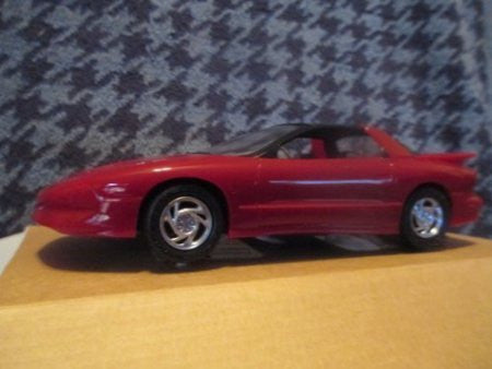 #6601 Ertl 1993 Pontiac Firebird,Bright Red Plastic Promo ,Fully Assembled