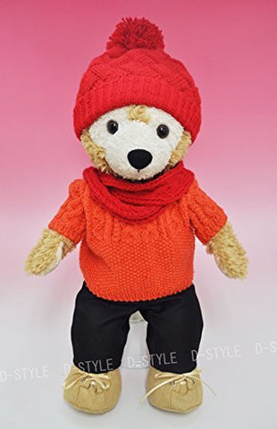 """Duffy style"" S size 43cm Duffy perfect for Sherry Mae stuffed clothes TM popular idol red sweater costume dress-up costume D557"