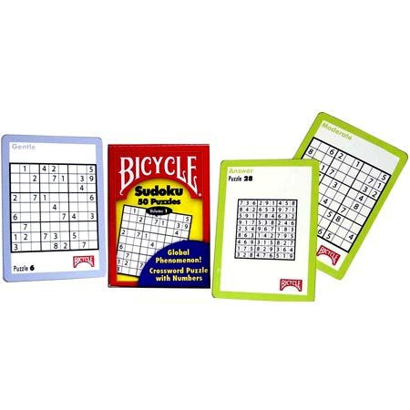 Bicycle Sudoku 50 Puzzles