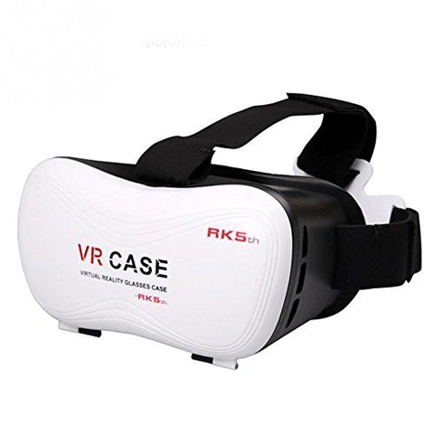 "3D VR Head-mounted Display Headset Glasses RK5th Virtual Reality Mobile Phone 3D Movies for iPhone 6 6s plus Samsung Galaxy s5 s6 note4 note5 and Other 4.7"" - 6.0"" Cellphones"