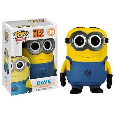 ! Pop Despicable Me 2 Vinyl Figure: Dave Kaito glue minion Boss minion Dave 3.75 inches figures parallel import goods of