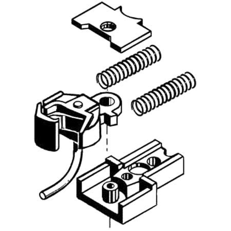 #1 Coupler, Reverse Offset (1pair)