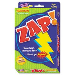 ** Zap Math Card Game, Ages 7 and Up **