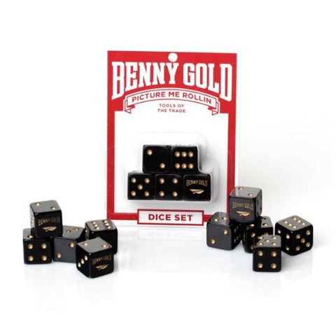 'Picture Me Rollin' Dice Set designed by Benny Gold
