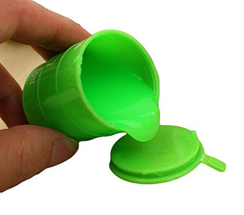 1Pcs Barrel O Slime Goo Silly Putty Gag Kids Toys Prank Party Favors Joke (Green)