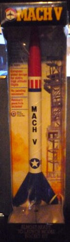 #TR201 Model Rectifier Corporation Mach V Almost Ready to Launch Flying Model Rocket