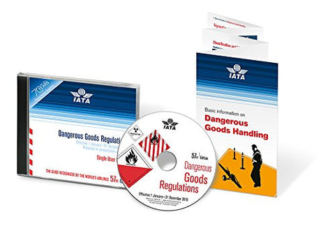 2015/2016 IATA Dangerous Goods Regulations 57th Edition (eDGR) CD-ROM (English)