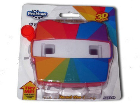 1 X ViewMaster Red Viewer - Spectrum, Model: , Toys & Play