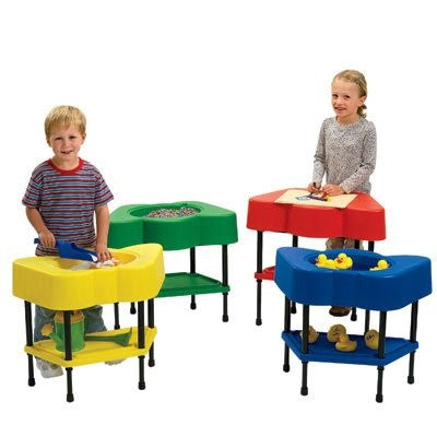 Angeles Corp Candy Apple Red Activity Table