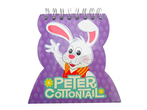 5 Piece 50 Sheet Peter Cottontail Bunny Rabbit Notepads