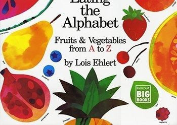 * EATING THE ALPHABET BIG BOOK