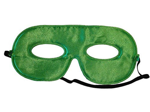 10 Abracadabrazoo Superhero Green Satin Masks
