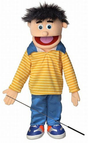 "25"" Bobby, Peach Boy, Full Body, Ventriloquist Style Puppet"