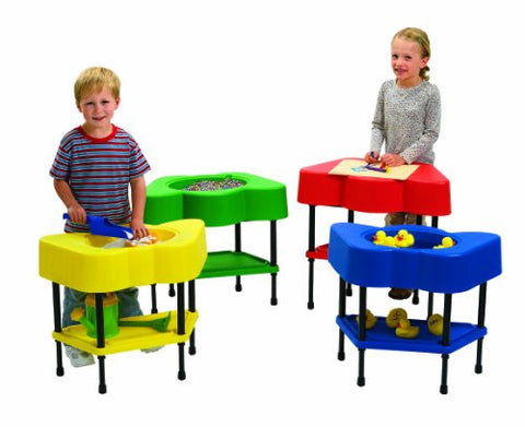 Angeles Active Play Sensory/Activity Tables, 4-Piece (Includes One Each PR, PG, PB, PY)