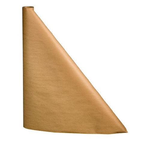 100 foot Plain Brown Kraft Paper Table Cover