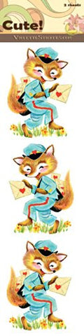 """Cute!"" Mailfoxes Stickers"
