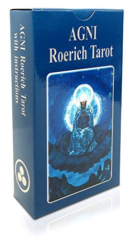 A Deeply Spiritual Tarot Deck. AGNI Roerich Tarot, 2016 Edition. Set of 78 Cards Based on Paintings by Nicholas Roerich. A Unique Tarot Cards Deck, a Pathway to Tarot Symbolism and Meaning