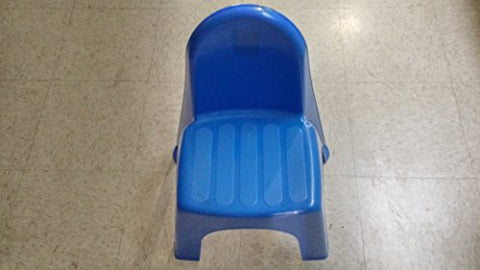 Child's Blue Plastic Chair