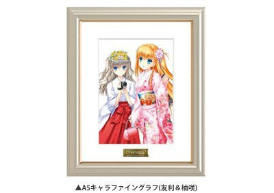 """Charlotte"" Blu-ray ? DVD ANIPLEX + limited whole volume purchase bonus character draft: Na-Ga draw down A5 characters Fine graph (Tomori & YuzuSaki)"