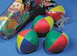 3 juggling ball set Features 3 balls with colorful leatherette covers, Each Set polybagged w/header