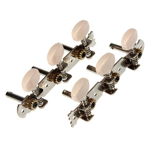 2 Classical Guitar Tuner Tuning Keys Pegs Machine Heads