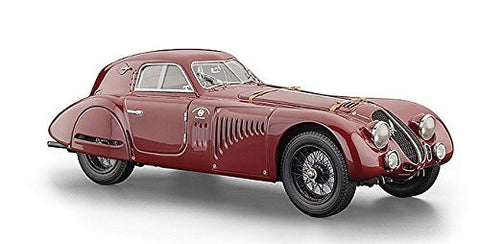 1938 Alfa Romeo 8C 2900 B Speciale Touring Coupe Diecast Model Car by CMC in 1:18 Scale by CMC