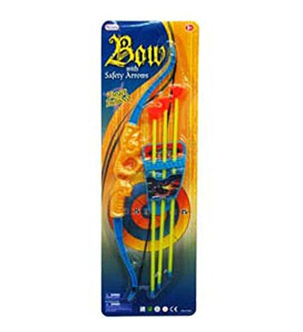 15in Bow w. Soft Arrows Play Set, Case of 36