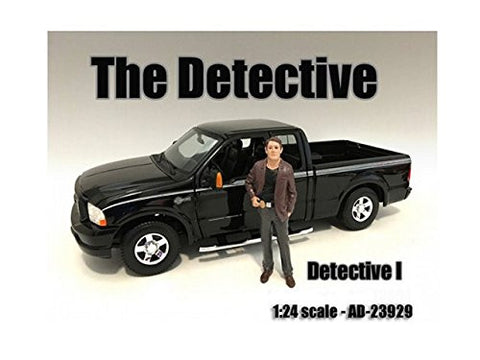 """The Detective #1"" Figure For 1:24 Scale Models by American Diorama 23929"