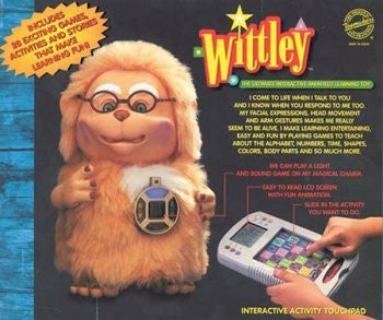 """Wittley"" the Ultimate Interactive Animated Learning Toy"