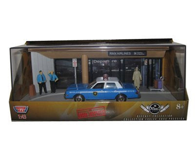 """The Usual Suspects"" Movie 1983 Dodge Diplomat Diorama 1/43"