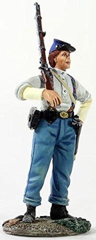 """Federal Infantryman with Shirtsleeves with Shouldered Musket"" - W. Britain - Metal Minature Figure"