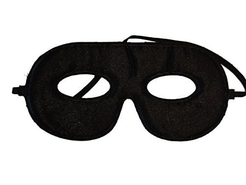10 Abracadabrazoo Superhero Black Satin Masks