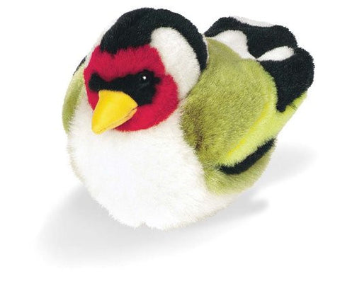 "5"" Goldfinch With Sound Soft Toy"