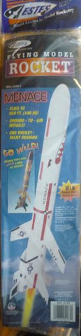 #2173 Estes Menace Flying Model Rocket ,Needs Assembly