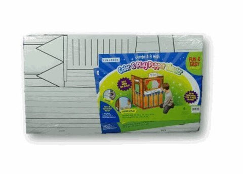 Color and Play Puppet Theater