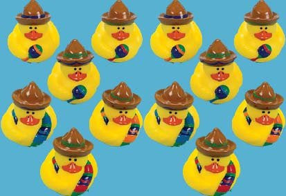 1 Dozen Fiesta Rubber Duckys [Toy]