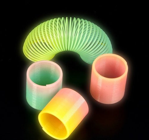"1.5"" GLOW-IN-THE-DARK COIL SPRING, Case of 1200"